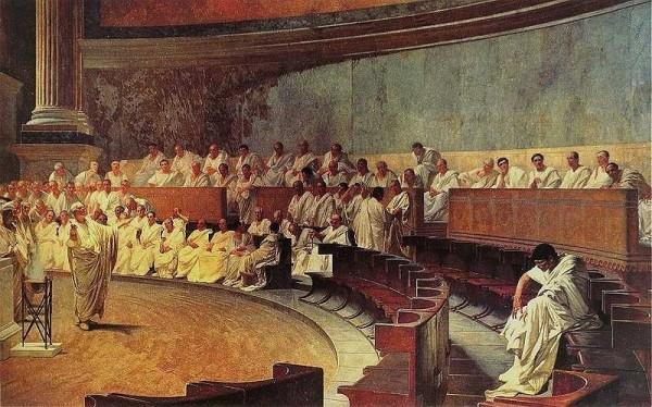 Cicero'nun Catilina Söylevi, Roma, Palazzo Madama
