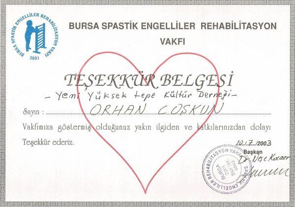Bursa Spastik Engelliler Vakfı