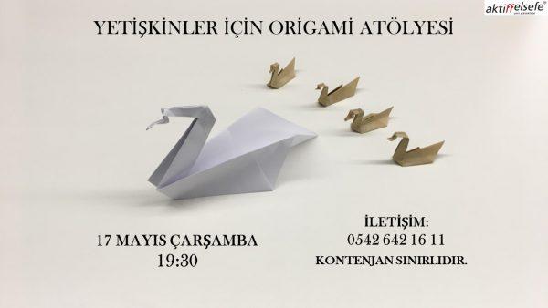 3.origami atölyesi için AFİŞ