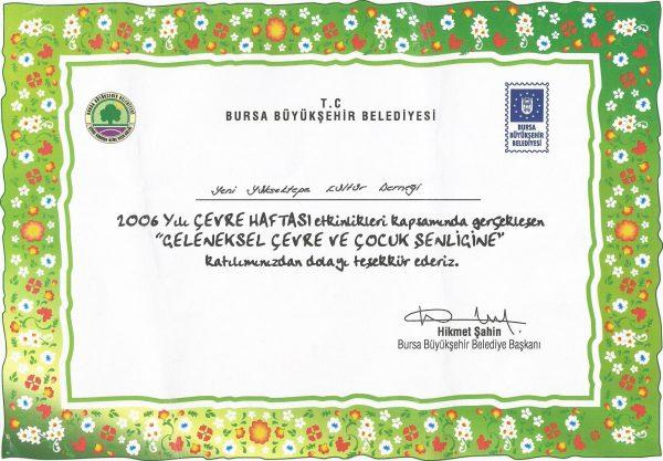 BBB 2006 ÇEVRE HAFTASI ETKİNLİKLERİ