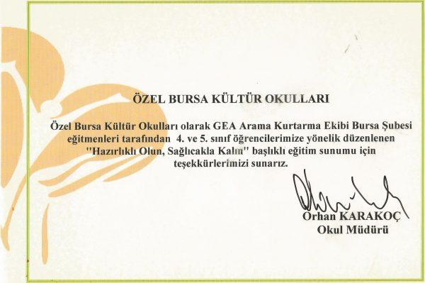 Bursa Kültür Okulları